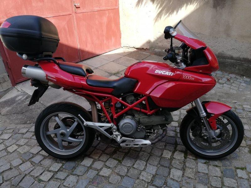 Ducati Multistrada 1000 DS bazar