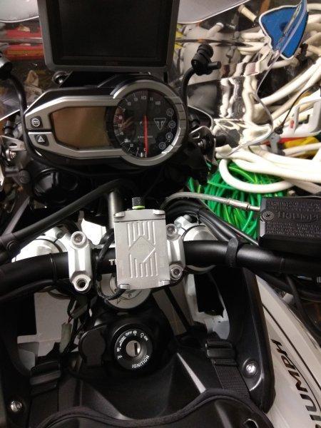 Triumph Tiger 800 XR bazar