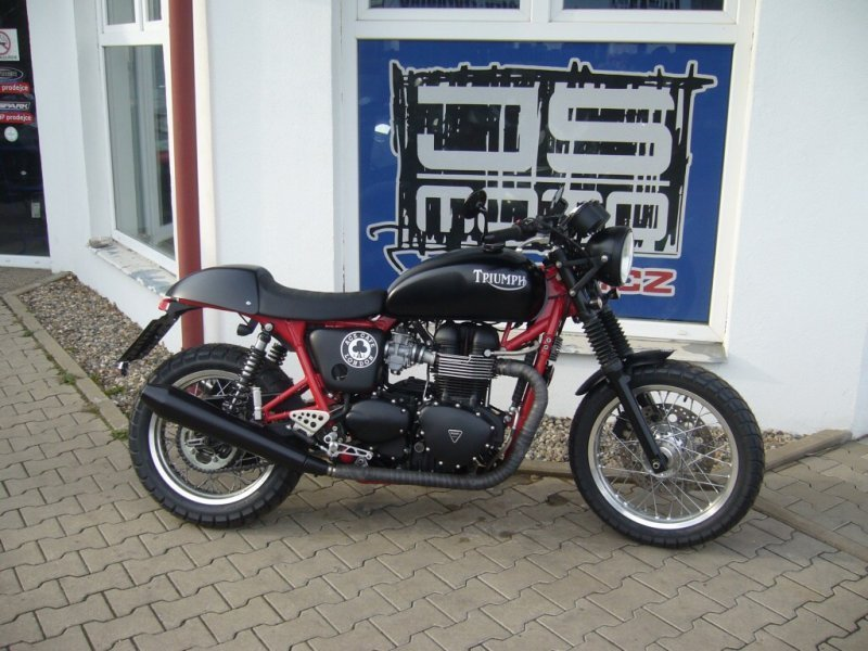Triumph Thruxton 900 bazar