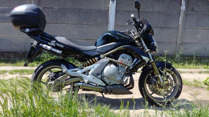 Kawasaki ER-6n bazar
