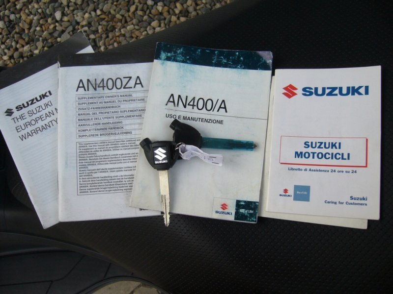 Suzuki AN 400 Burgman bazar